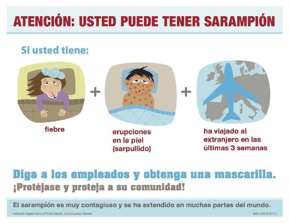 measles - spanish